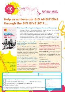 NYJC Big Give leaflet 2017